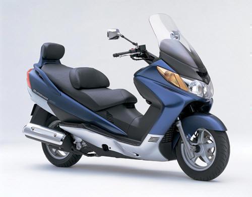 Plaquettes de frein Scooters Suzuki Burgman 400 AN Arrière de 1999 à 2000